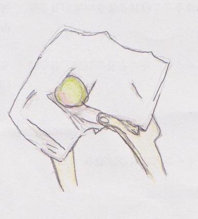 強く実をこすらないことが、ポイントです。梅の実はデリケートです