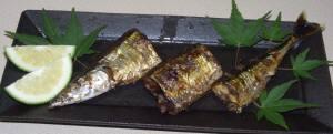 秋刀魚の季節にミカンはつきもの