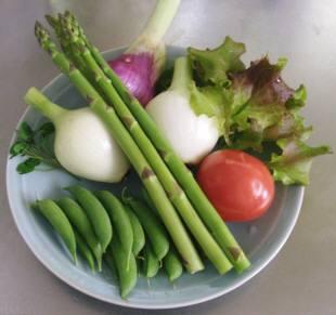 サンセットファームで栽培している野菜