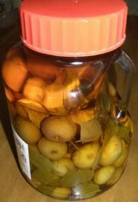 焼酎と梅で4l瓶を満タンにすると空気に触れる面積が少なくなる。また、密閉された容器の中で、空気の量も少なくなる