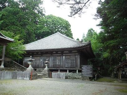 鞆渕八幡神社の大日堂