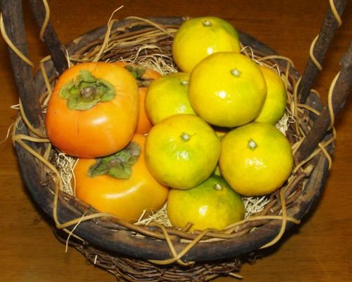 秋の和歌山の代表選手・柿とみかん