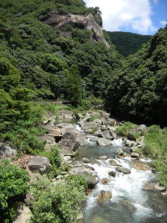 奇絶峡の風景